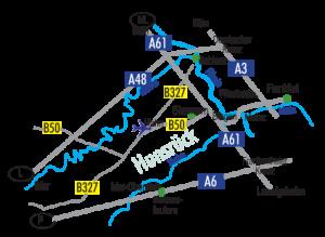 Hotel Bergschloesschen - Anfahrtsplan