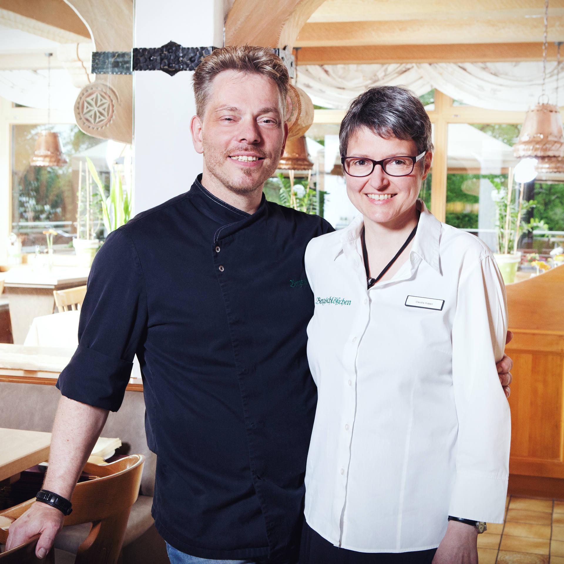 Hotel Restaurant Bergschlößchen - Geschäftsleitung Claudia Hubert und Michael Böhme