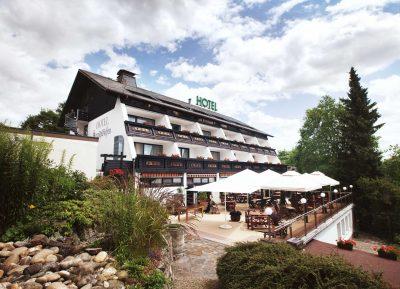 Hotel Bergschlößchen - Südansicht