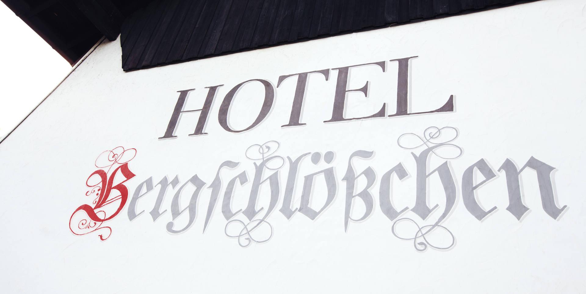 Hotel Bergschlößchen wordmark