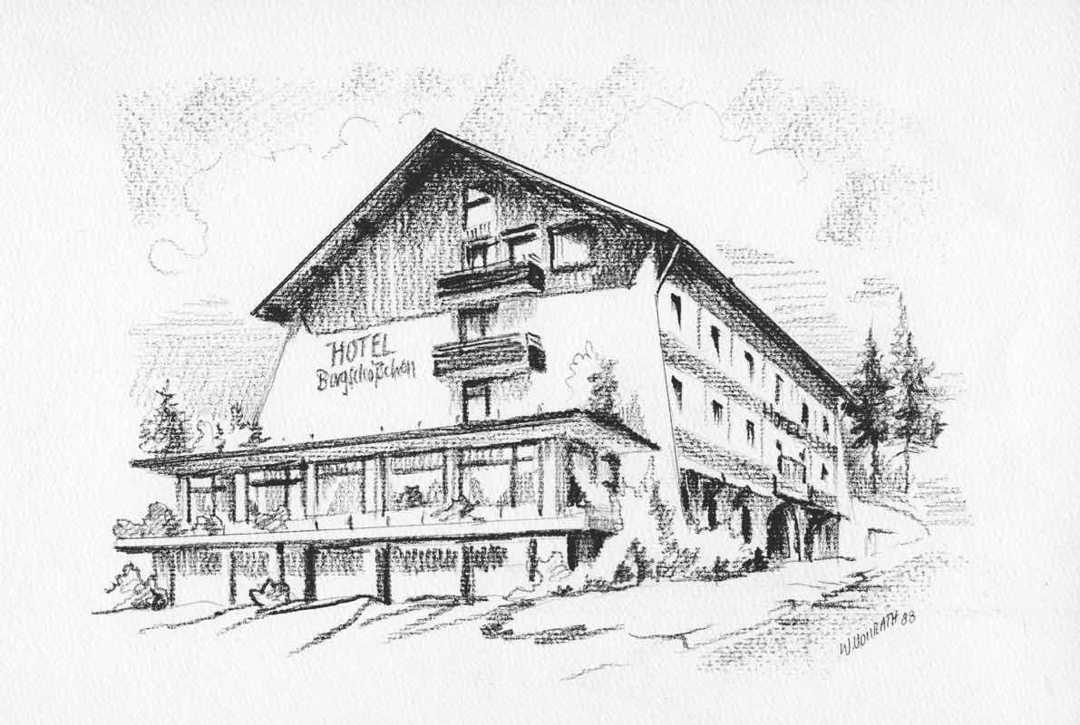 Bergschlößchen Simmern Hunsrück - Ansicht heute