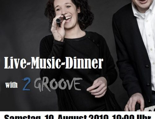 Live Music Dinner mit 2GROOVE